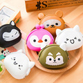 wholesale Cute Portable Cartoon Bag Change Coin Purse Case handbag girl wallet mini coin purse women bag silicone soft DL1919