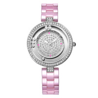WEIQIN Women Watch Brand Luxury Ceramic Band Fashion Watches Ladies Rose Gold Wrist Watch Quartz Hours