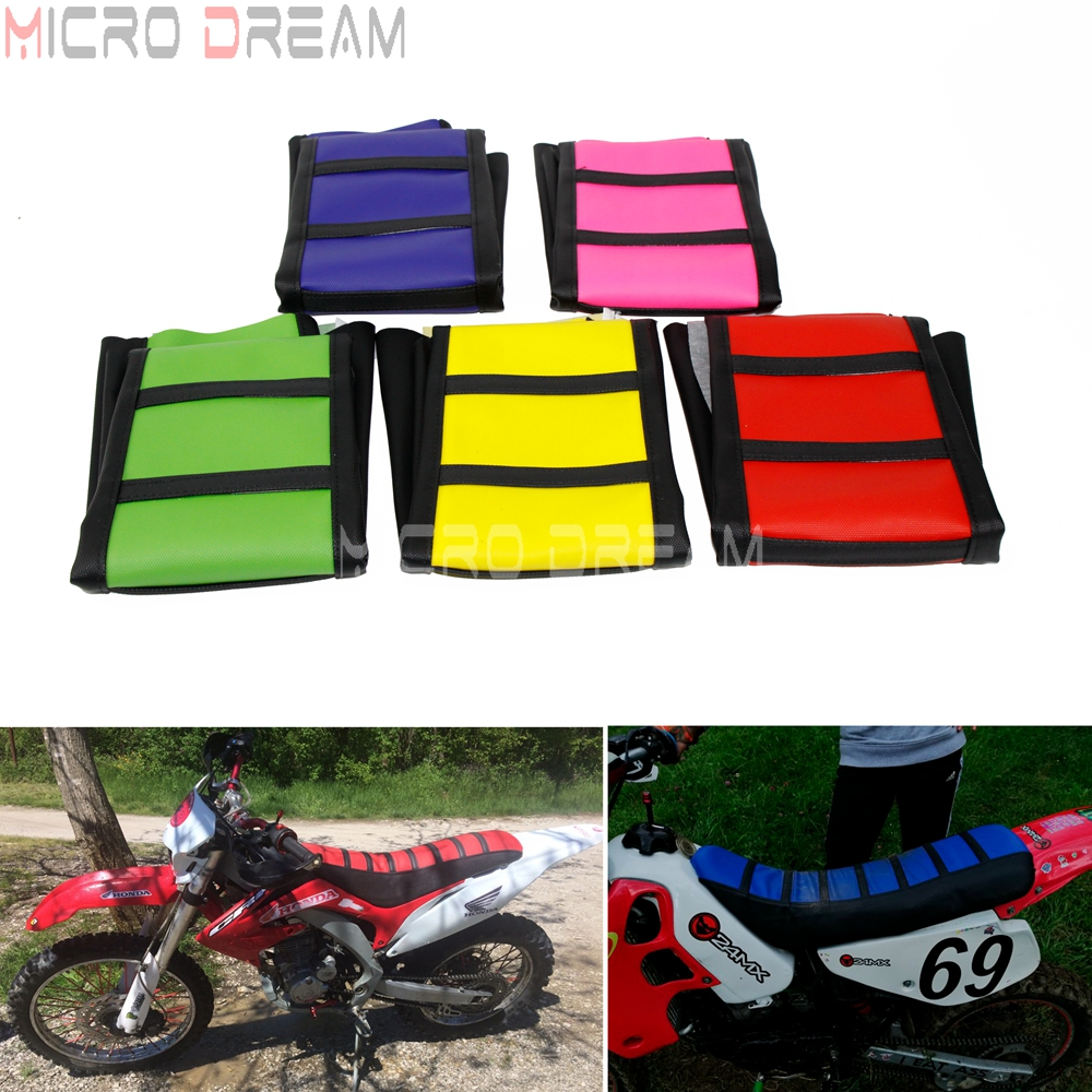 New Gripper Soft Motorcycle Seat Cover MX For Suzuki DRZ400 00-16 Enduro offroad