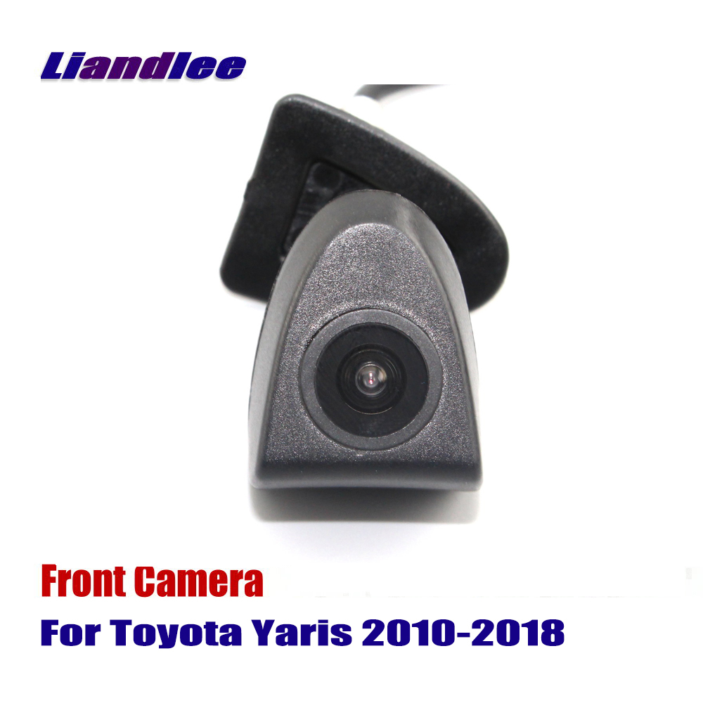 Liandlee Car Front View Camera AUTO CAM For Toyota Yaris 2010-2018 2013 2014 2015 2016 2 ...
