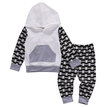 2017 Scorching 2PCS Toddler Youngsters Child Boy Garments Hoodies Sweatshirt Pants Trousers Outfits Clothes Set