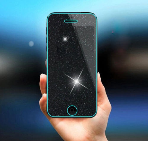 9H Rhinestone Diamond Glitter Shiny Tempered Glass Screen Protector Film For IPhone 4 4S 5 5C 5S SE 6 6S 7 Plus + Clean Tools