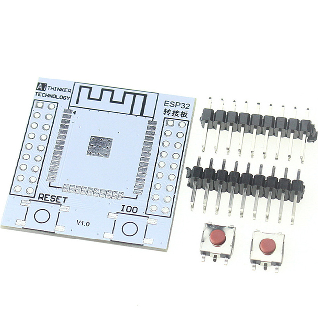 5pcs ESP-32S Pinboard Convertor Module ESP32S Adapter Board Support for ESP-32S Wireless WIFI Bluetooth Module