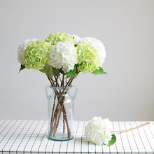 Klonca Luxury Silk Flower 55cm 6pcs/lot Artificial Hydrangea Fake Wedding Wall Home Decoration