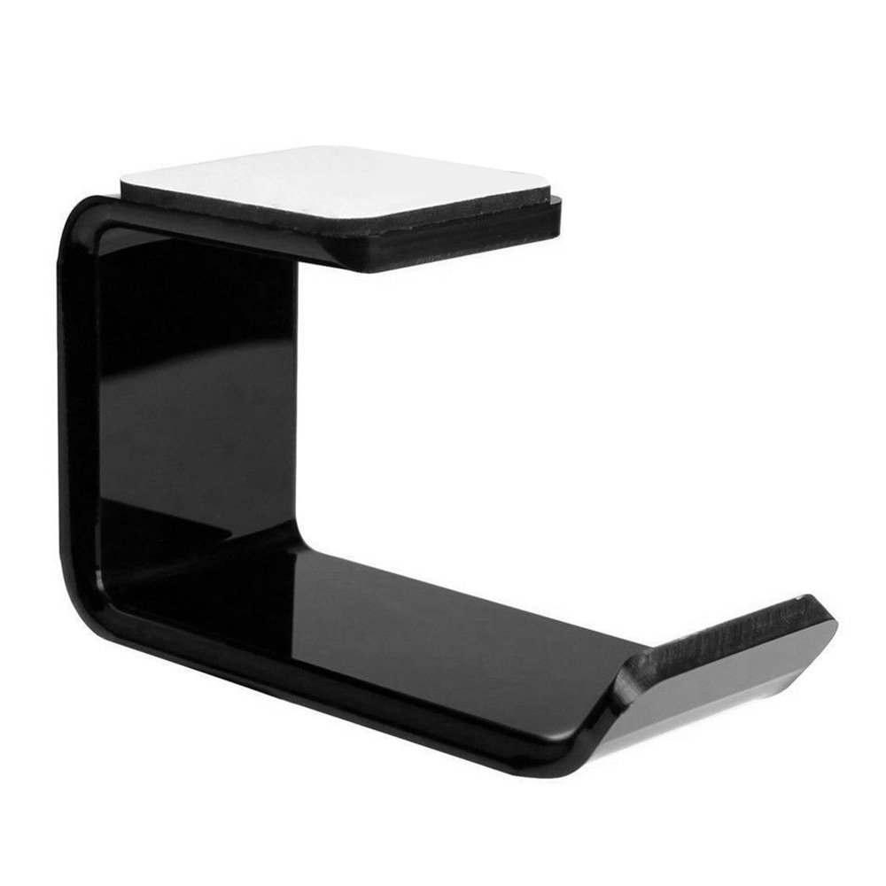 Durable Headphone Stand with Sticker High-quality Headset Holder Portable Wall Desk Bracket L-Shape Earphone Hanger Accessories