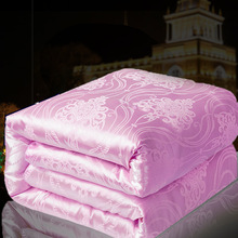 SongKAum Luxury Comfort Summer Silk Quilt Bedding Quilt King/Queen/Full Size Home Textile Top Quality Blanket Filler