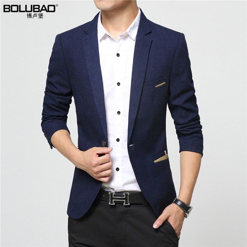 2016 New Arrival Brand Clothing Autumn Masculine Blazer Men Fashion Slim Fit Suit Men Casual Solid Color Suit Blazer Male Jacket