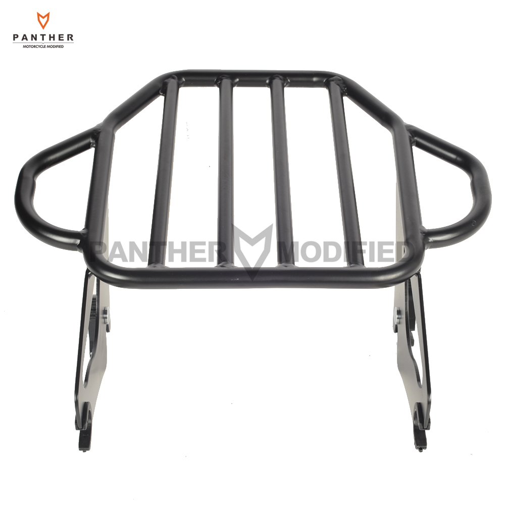 Motorcycle Tour Pak Luggage Rack Case for Harley Touring Electra Glide Road King Street 2009-up saddlebag lid rack top rail w light for harley touring ultra street electra glide 94 13