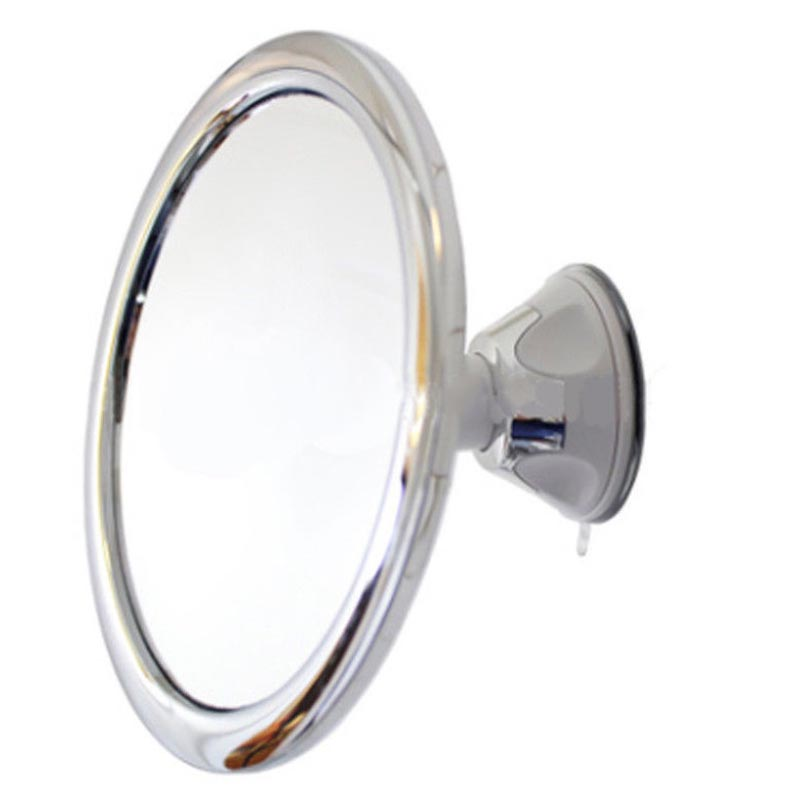 Fogless Makeup Mirror With Holder Suction Cup 360 Rotation Shower Shave Mirrors 17cm--M25Fogless Makeup Mirror With Holder Suction Cup 360 Rotation Shower Shave Mirrors 17cm--M25