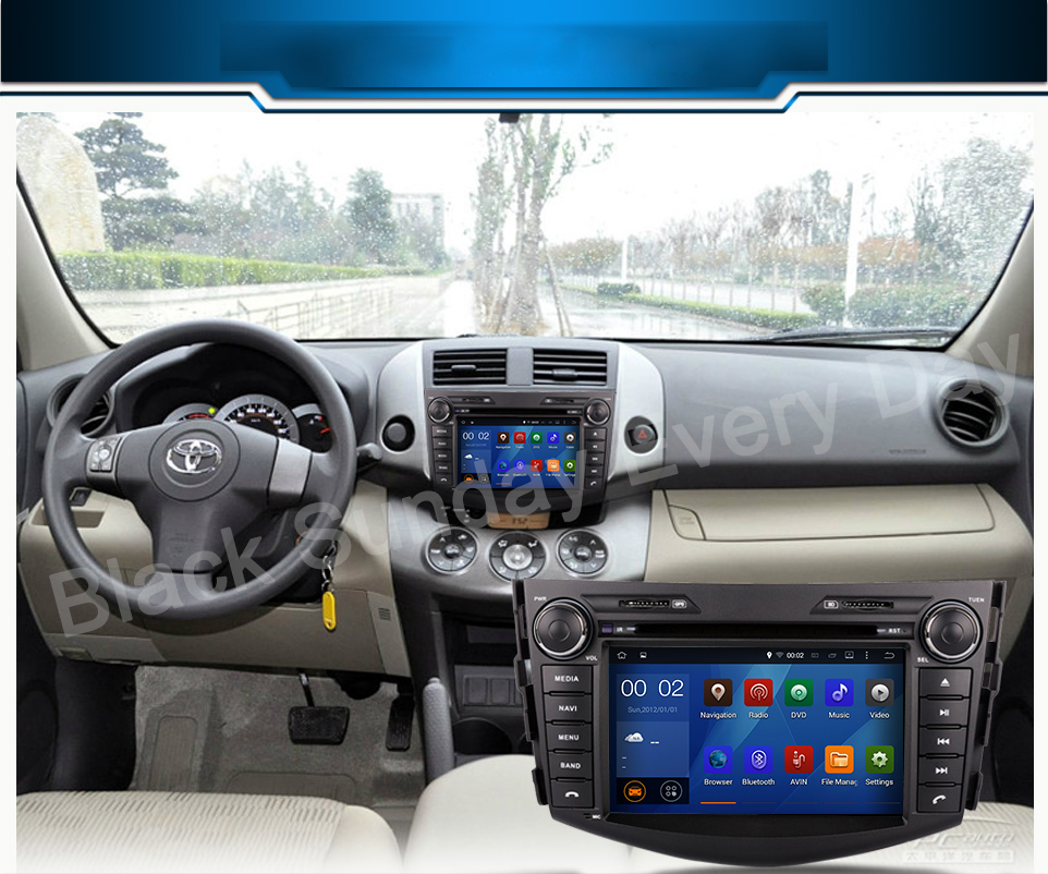 8 Inch Android 6.0 For Toyota Rav 4 RAV4 2007 2011 Car DVD Player Audio  Video Stereo GPS Radio With BT 3G Wifi In Car Multimedia Player From  Automobiles ...