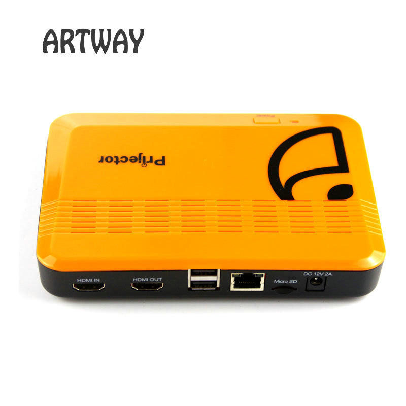 ФОТО Artway Android TV Box M20 1G/4G Android 4.0 Smart TV BOX  Dual core support HDMI input  Set-top Box