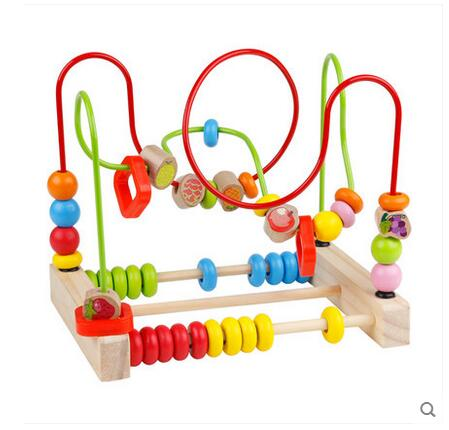 Children around the bead beaded large intellectual toys baby educational early childhood building blocks