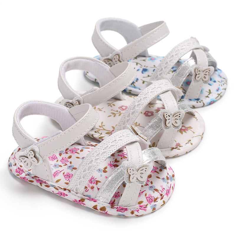 Toddler Girl Summer Shoes Newborn Baby Girl Soft Sole Crib Shoes Cute Baby Girl First Walkers Shoes