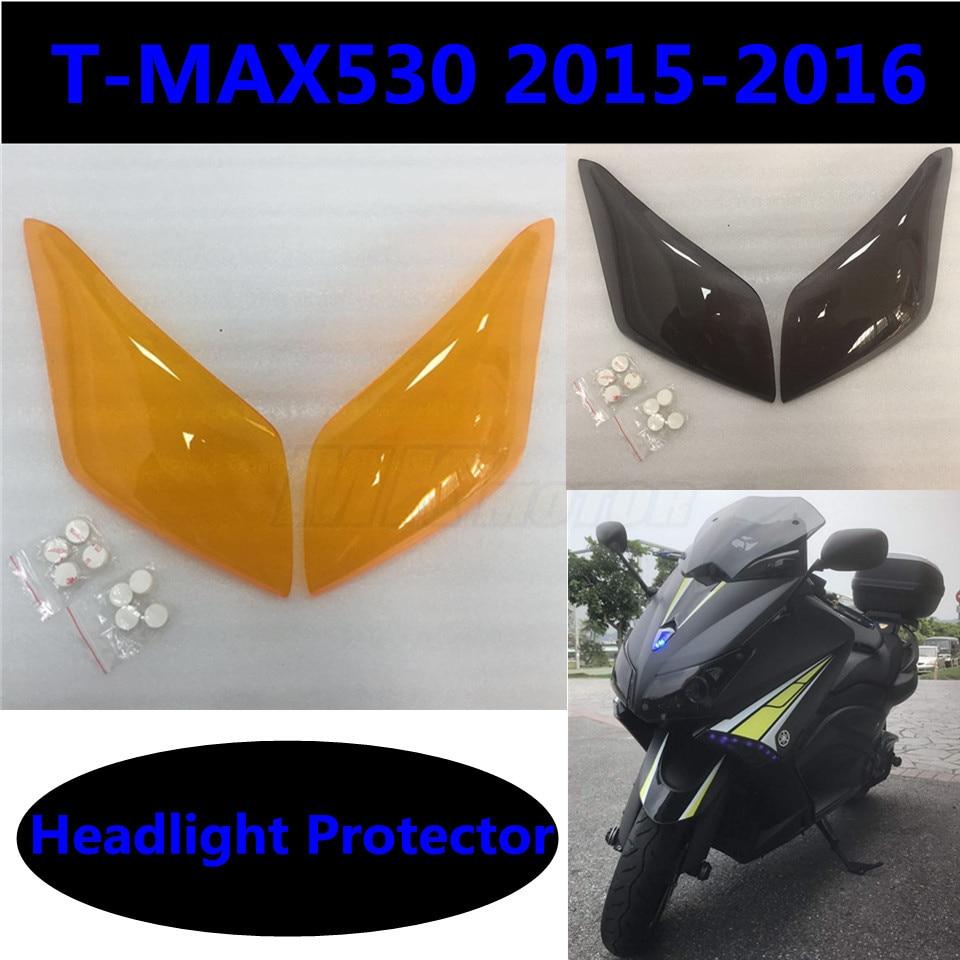 Мотокросс экран объектив фары протектор для YAMAHA T максимальный 530 Т-MAX530 Т-max530 2015-2016 Бесплатная доставка