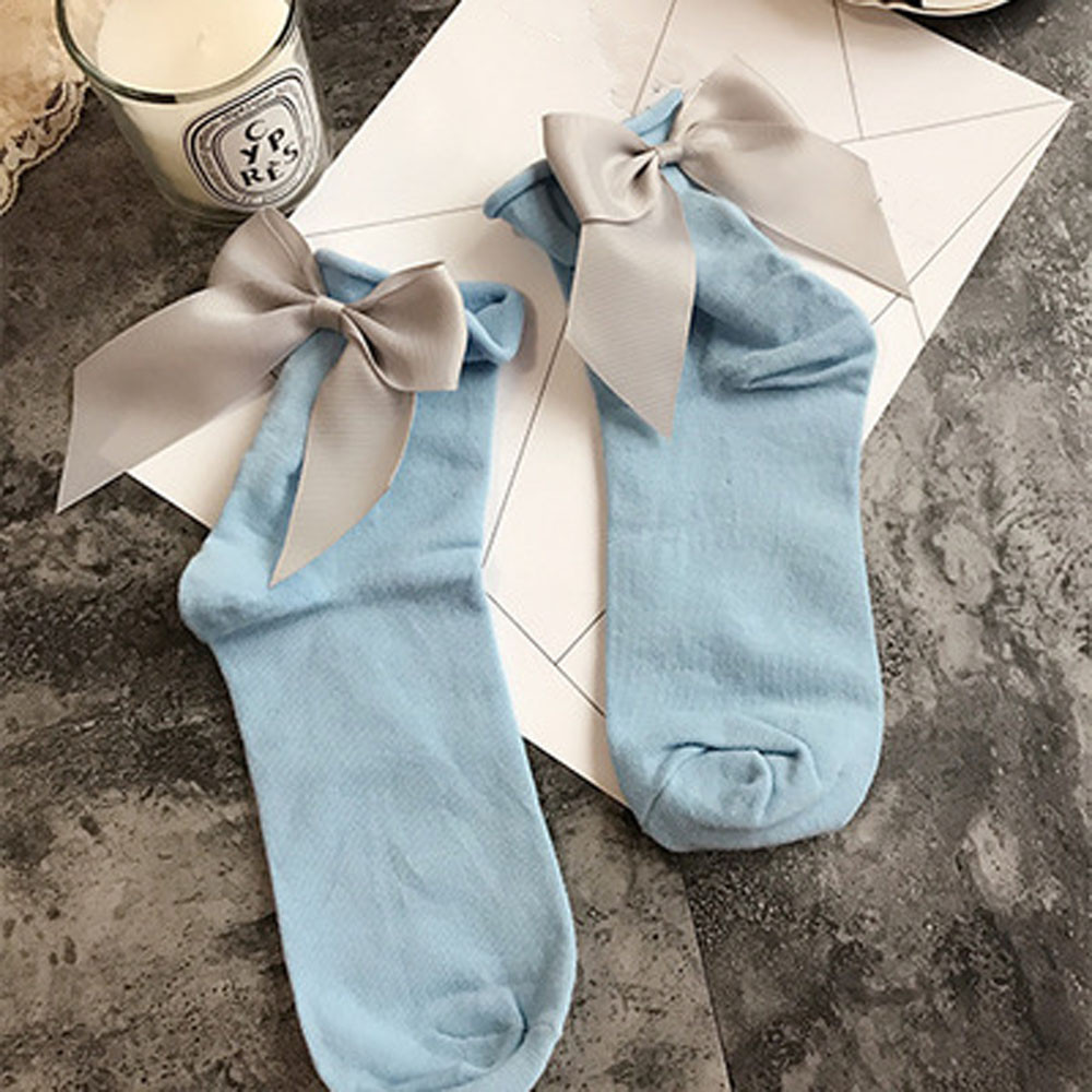 2017 New Socks Women Very Fashion Socks Different Street Style Cotton Ankle Length Socks With Bow