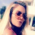 Lujo Piloto Mujeres Diseñador de la Marca de Gafas de Sol de Moda UV400 Espejo de Marco de Metal Gafas de Sol Bomber Superior Plana Femenina de Alta Calidad