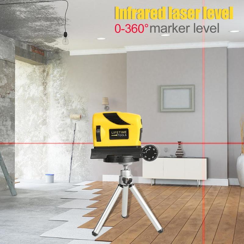 Medidor de Nível de Auto-Nivelamento A Laser