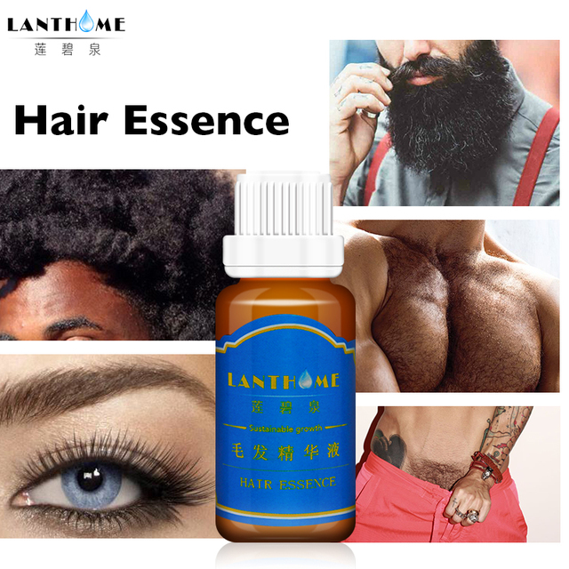 Lanthome hair growth nourishing cream for the growth of the beard thick support for men bread oil essence help hair growing fast