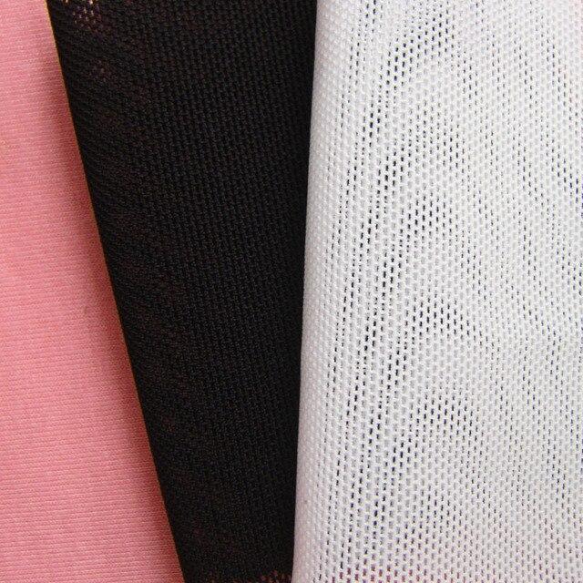Mode feine dicke weiße stretch mesh stoff französisch hohe qualität hohl  kleid bekleidung handgemachte nähen schwarz 2006e669a2