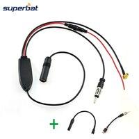 Superbat DAB Car Radio Antenna DAB FM AM Aerial Converter Splitter With RAST II Aerial Adaptor