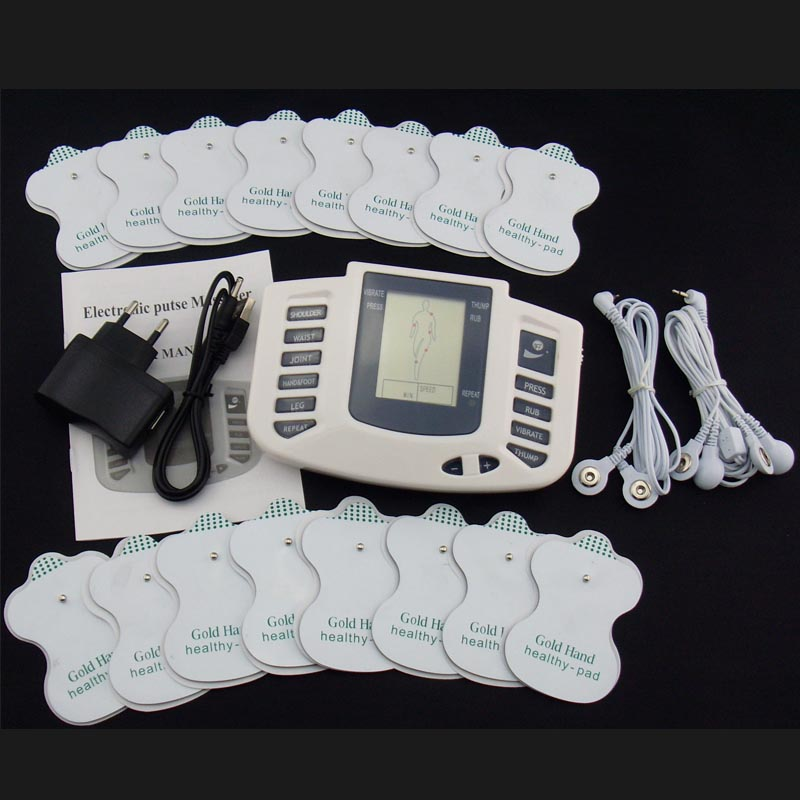 Electronic Body Slimming Pulse Massage for Muscle Relax Pain Relief Stimulator Massageador Tens Acupuncture Therapy Machine купить в Москве 2019