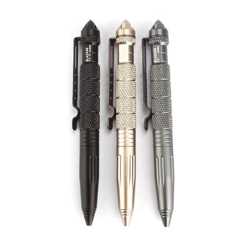 Multipurpose Aluminum Tactical Pen Emergency Glass Breaker Tool for Travel Camping Hiking
