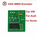 Новый эмулятор VAG Immo для стайлинга автомобиля VW для Audi высококачественные диагностические инструменты Эмулятор иммобилайзера Ecu для SEAT для ...
