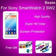 Beste Qualität Glatte Displayschutzfolie für Sony SmartWatch 2 SW2 Schutzfolie Aus China 20150929