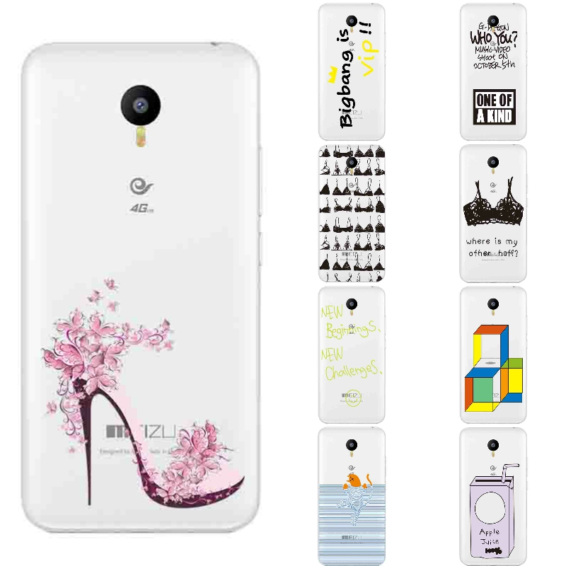 Для Meizu M2 Note чехол для телефона для meilan M2 Note В виде ракушки Прозрачный Ультра тонкий Meizu Note чехол кремния весело бюстгальтер узор Капа гель