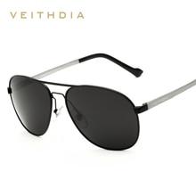2017 VEITHDIA Aluminum Brand Designer Sunglasses Men Vintage Polarized Pilot Driving Sun Glasses Male gafas oculos de sol 3364