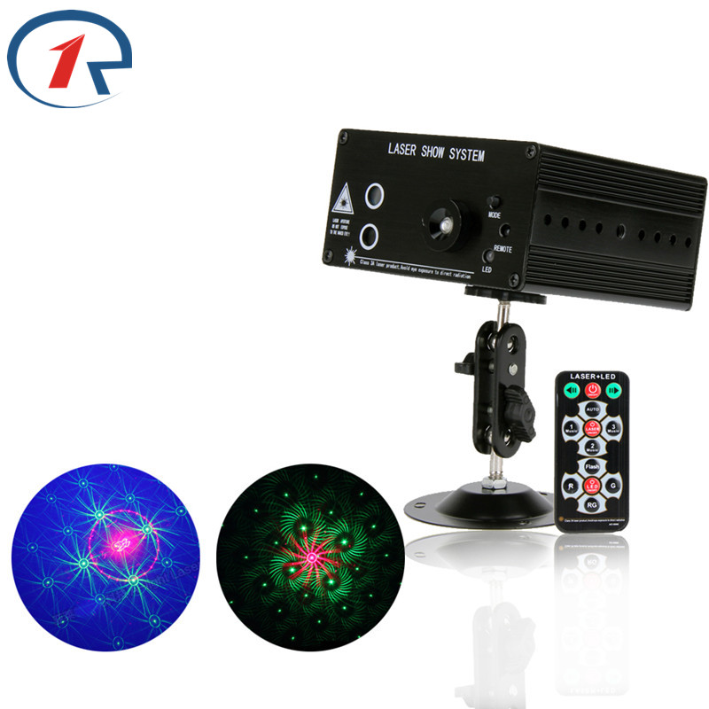 ZjRight NEW RG Laser projector windmill 48 patterns blue led Club Party Bar DJ lights Dance Disco Xmas party Stage show Lighting 3 lens 36 patterns rg blue led new year christmas party laser projector stage lighting dj disco bar party show stage light