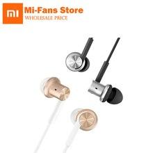 המקורי Xiaomi אוזניות היברידי 2 יחידות HiFi בתוך אוזן אוזניות Xiaomi Mi 1 יותר בוכנה 4 עם מיקרופון מעגל ברזל מעורב משלוח חינם