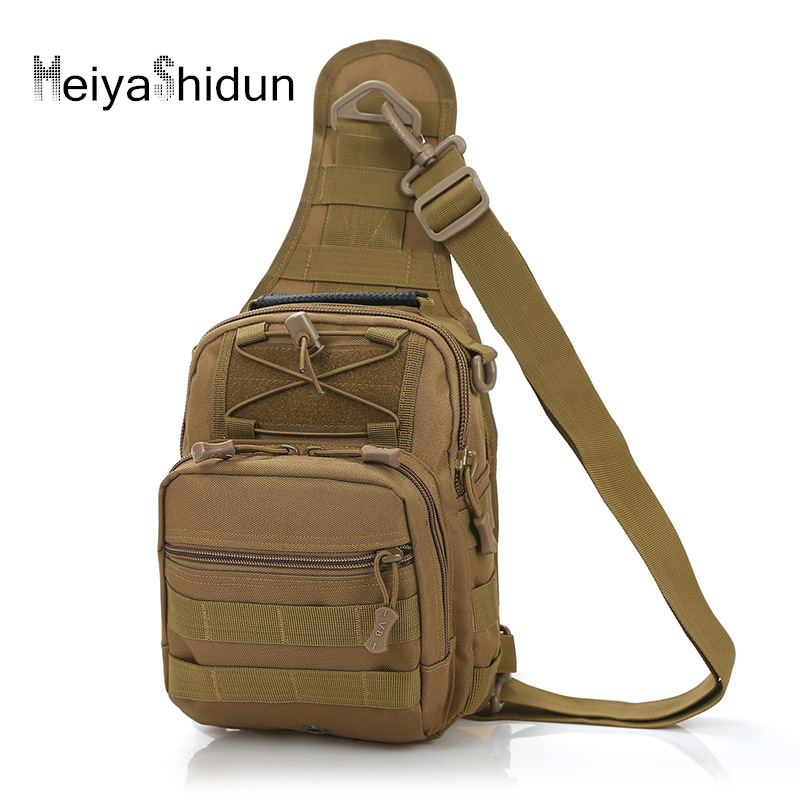 Men Chest pack Nylon Military Back packs male Canvas Travel Riding CrossBody Shoulder bag Sling Waterproof Tool Bolsa masculina
