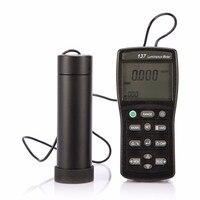 Лидер продаж цифровой высокая точность яркомер tes137 двойной 4 разрядный ЖК дисплей Дисплей ручной Light Meter Lux измерительный прибор