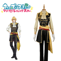 Anime! Uta no Purinsu Sama 4th Shinomiya Natsuki sj Uniform Cosplay Costume coat+shirt+pants+bow tie+belt+apron+gloves Free Ship