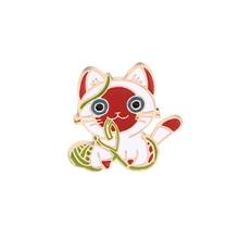 Free Shipping Fashion Cartoon Animal Brooch Metal Enamel Pins Badge Cute Dogs Shirt Sweater Denim Lapel Women Brooches