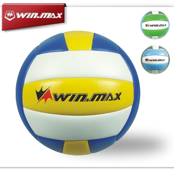 2015 Winmax κλασική μηχανή μάρκας ραμμένη 2.0mm PVC Voleibol μπάλα βόλεϊ