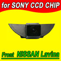 CCD цвета Автомобиля логотип вид Спереди камеры для Nissan X-Trail Tiida Qashqai Livina fairlady Пульсар Куб Армада Frontier Murano