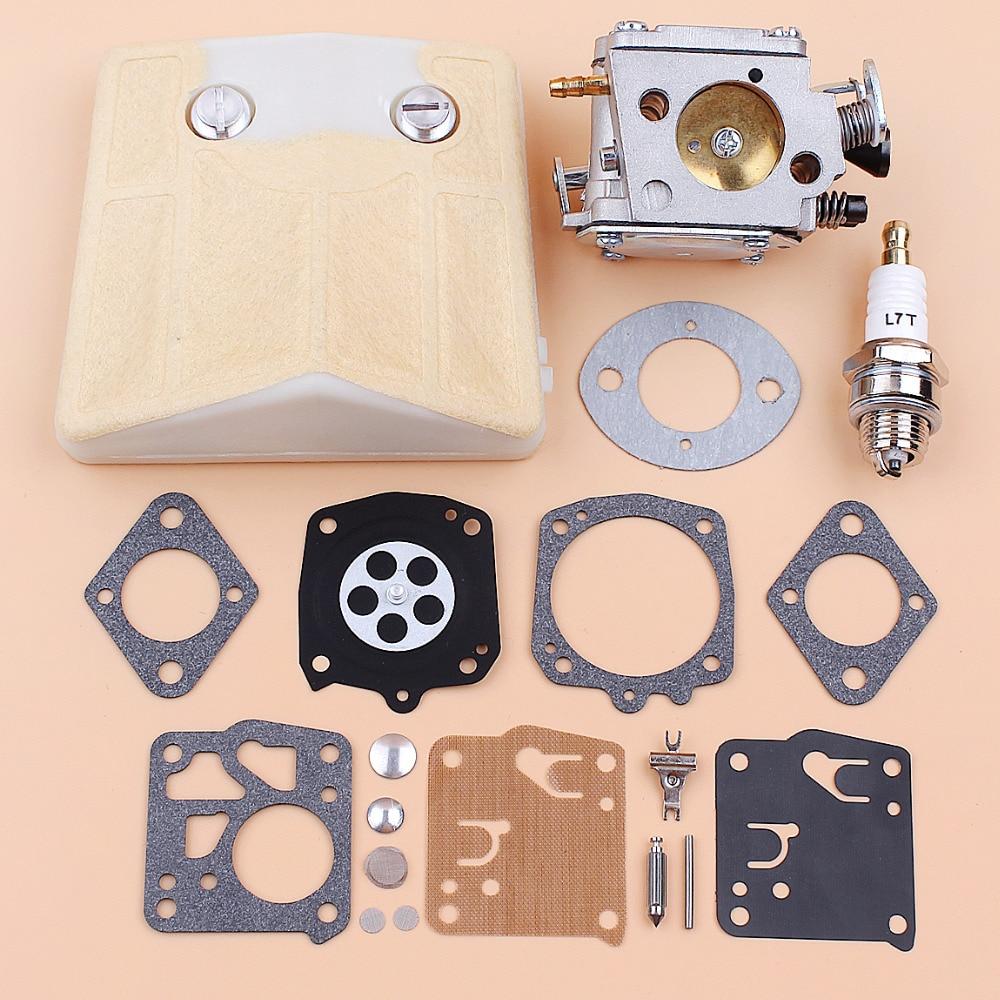 Carburetor Air Filter Diaphragm Repair Kit Fit Husqvarna 61 66 181 266 268 272 281 288 Tillotson HS-254B Chainsaws Spare Parts