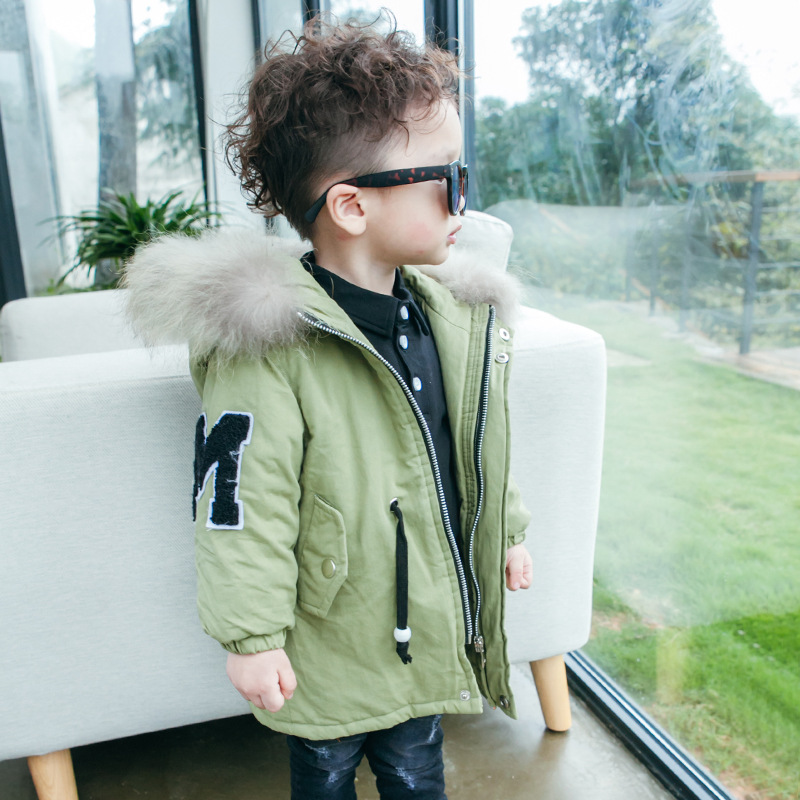 2016 High Quality Children's Clothes Winter jacket boys coats kids outerwear coat hooded long warm thick boys parkas coats 2017 girl boys clothes jacket long parkas kids hooded outerwear solid cotton warm long style children winter coats for 3 10y