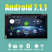 Bosion 2 din 6.95 Android 7.1 car dvd player GPS+wifi+bluetooth+radio+quad Core+Capacitive Touch Screen+RDS+stereo
