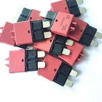 10 pces 28 v dc 10amp reinicializáveis disjuntores atc carro 28 v dc disjuntor 10amp interruptor de redefinição manual|Fusíveis|Automóveis e motos -