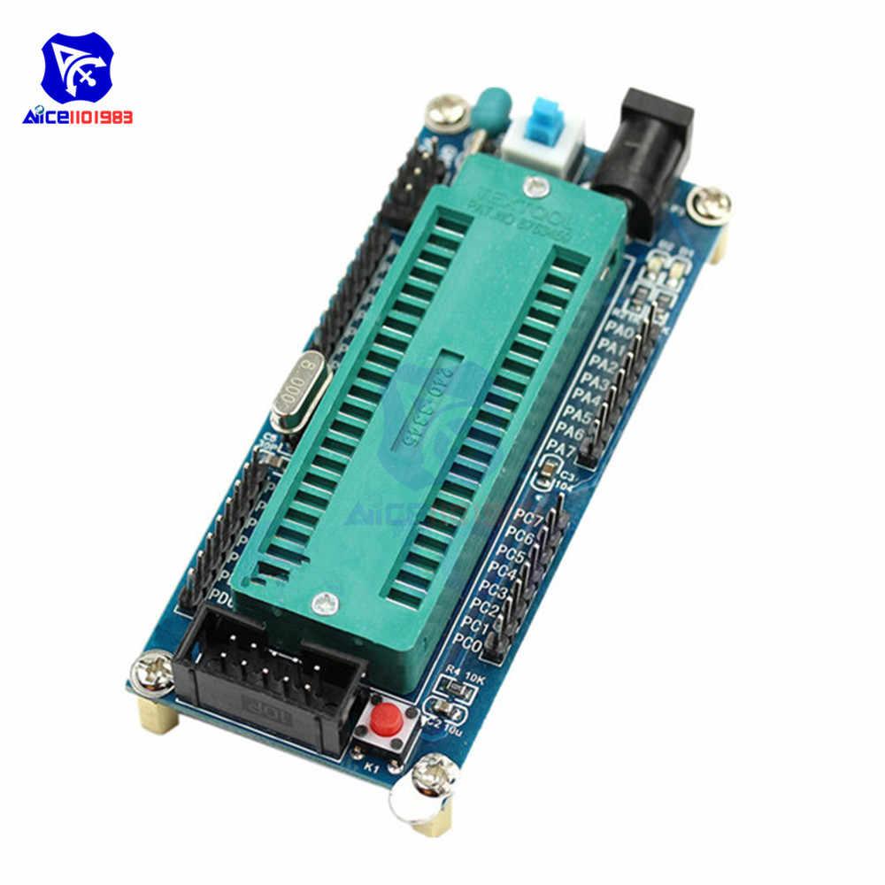 Diymore ATmega16 ATmega32 ISP minimalna płyta rozwojowa systemu AVR Mini moduł systemowy bez chipa dla Arduino
