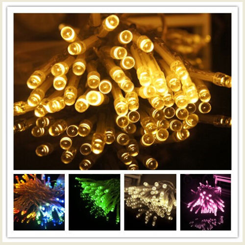 5 Meters 50 LED AA Battery Powered Fairy Light String Wedding Decoration For Christmas