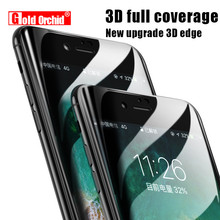 Gold Orchid Tempered Glass For iPhone 6 6S Screen Protector 2.5D Edge Protective Glass Film For iPhone 7 7 Plus 5 5s SE 8 8 Plus