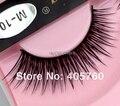 Atacado 1 par/lote Moda Natural Longo Cônico Alado Preto Cílios Postiços Falso Eye Lash Maquiagem Diariamente Beleza DIY Salon M10