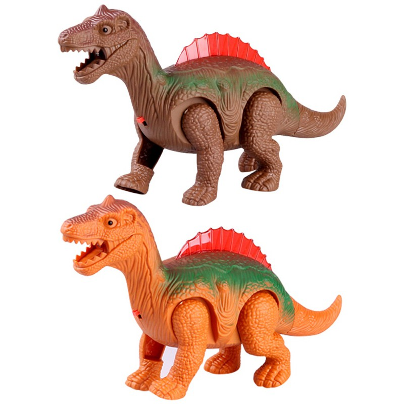 Super Fun Electric Walking Dinosaur Toys Glowing Dinosaurs with Sound Animals Model Toys for Kids Children Interactive Gift j3