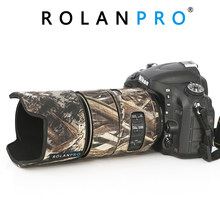 ROLANPRO Lens Camouflage Coat Rain Cover for Nikon AFS 105mm f/2.8G IF-ED VR Lens Protective Sleeve Guns Protection Case Cloth(China)