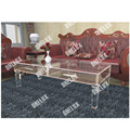 Vanity Acrylic coffee drawer table,CLear Lucite Perspex Cocktail Tea  tables tapered legs ONE LUX