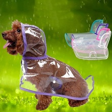 1 piece Dog Raincoat Puppy Waterproof Poncho Pet Clothes pet accessories